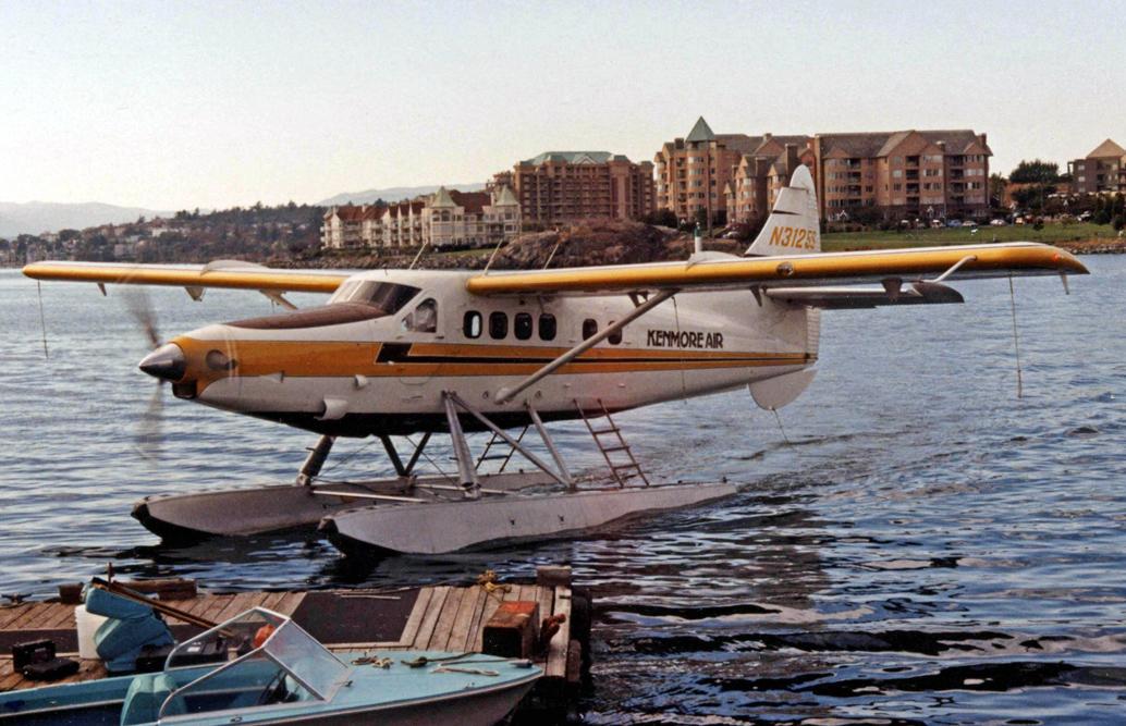 Kenmore Air Flightseeing Tours