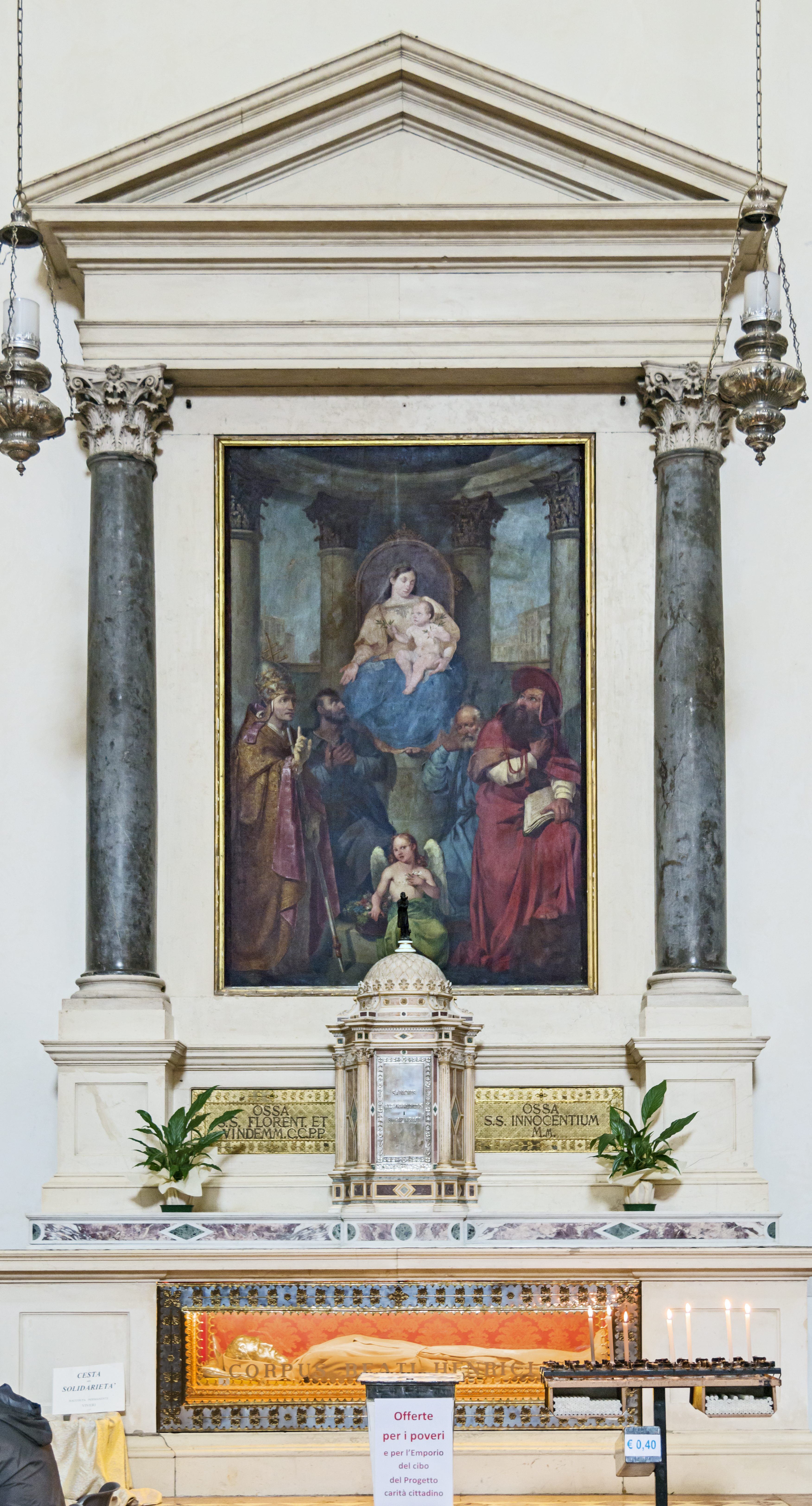 Altare del Beato Enrico da Bolzano