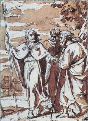 appearance of Jesus to Cleopa and Luke