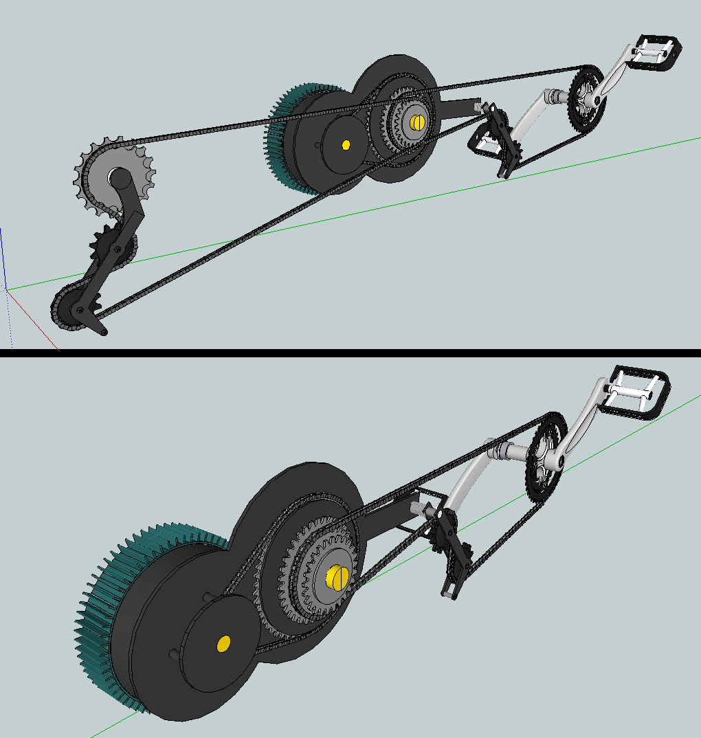 File Electric Bicycle Drivetrain Png Wikimedia Commons