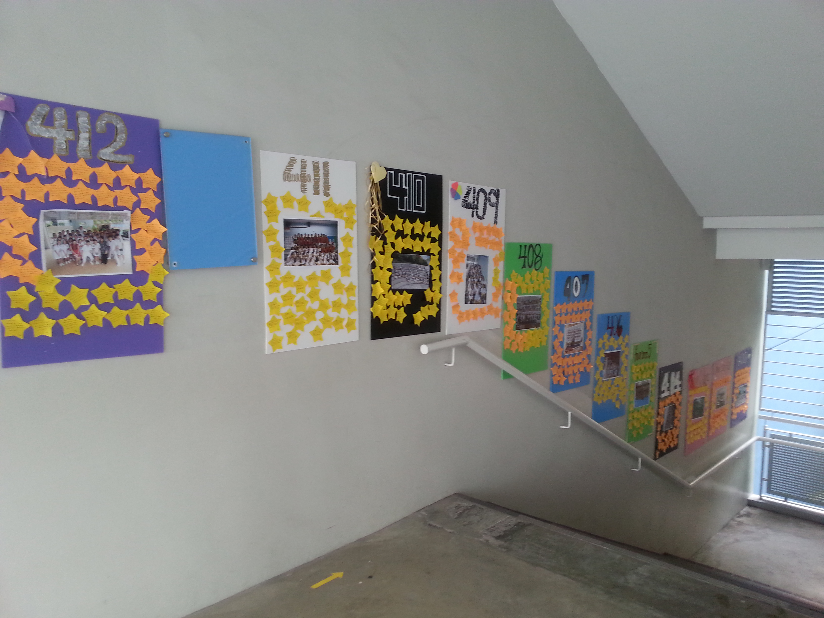 file encouragement posters for secondary 4 students near the