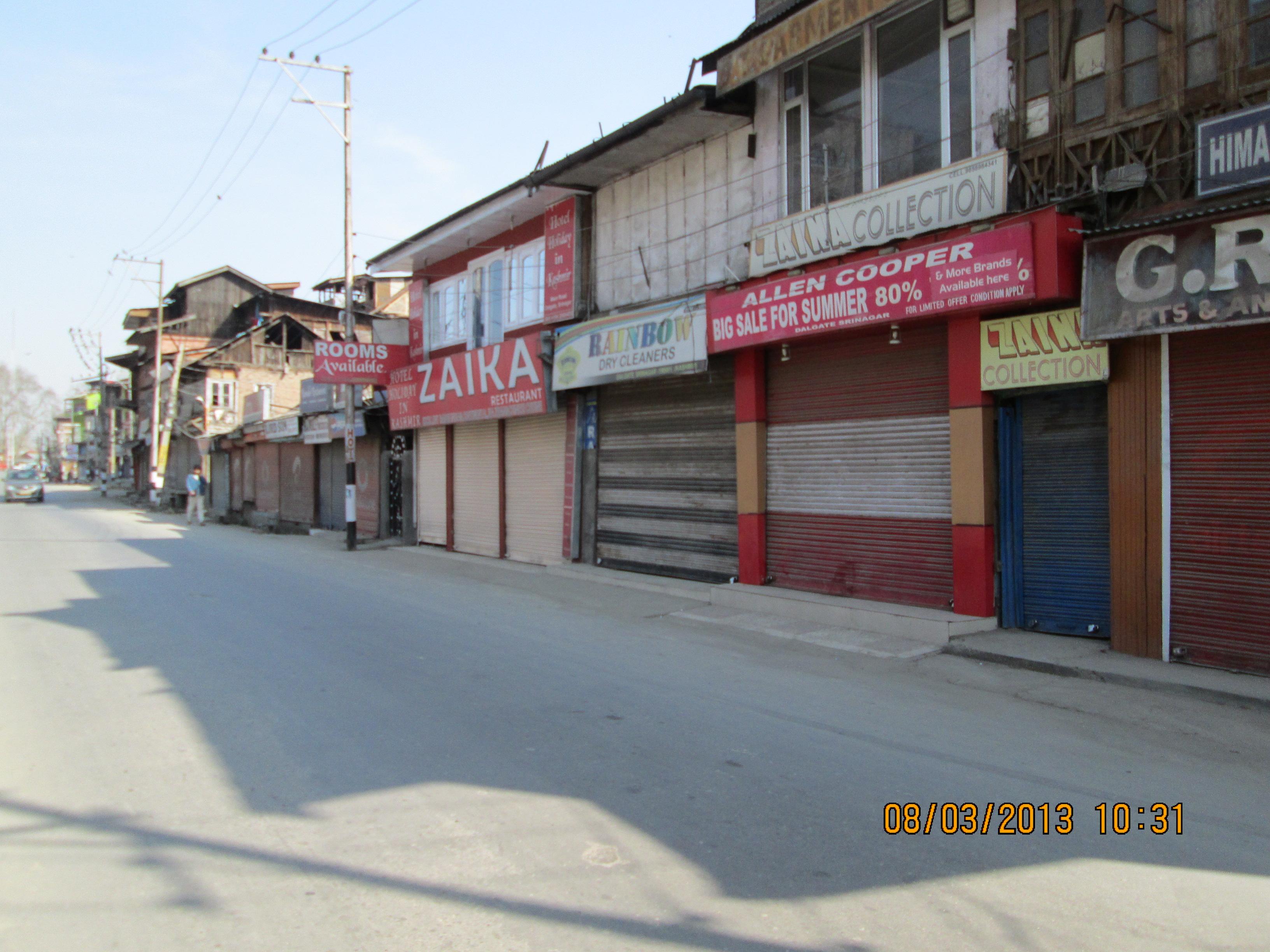 Image result for kashmir curfew