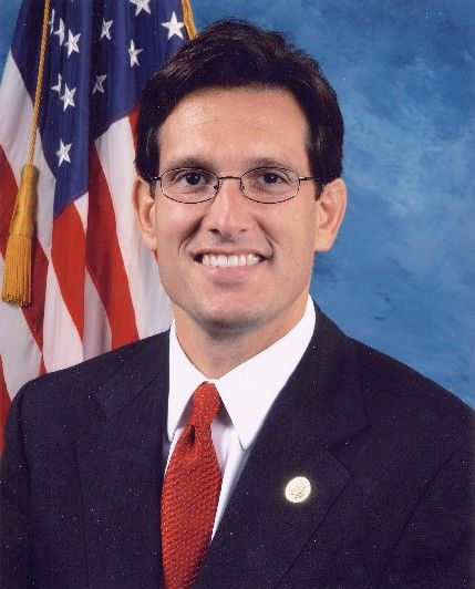 File photo for Virginia Congressman Eric Cantor. Now that Norman LeBoon is in custody, he can spend more time worrying about health care reform.