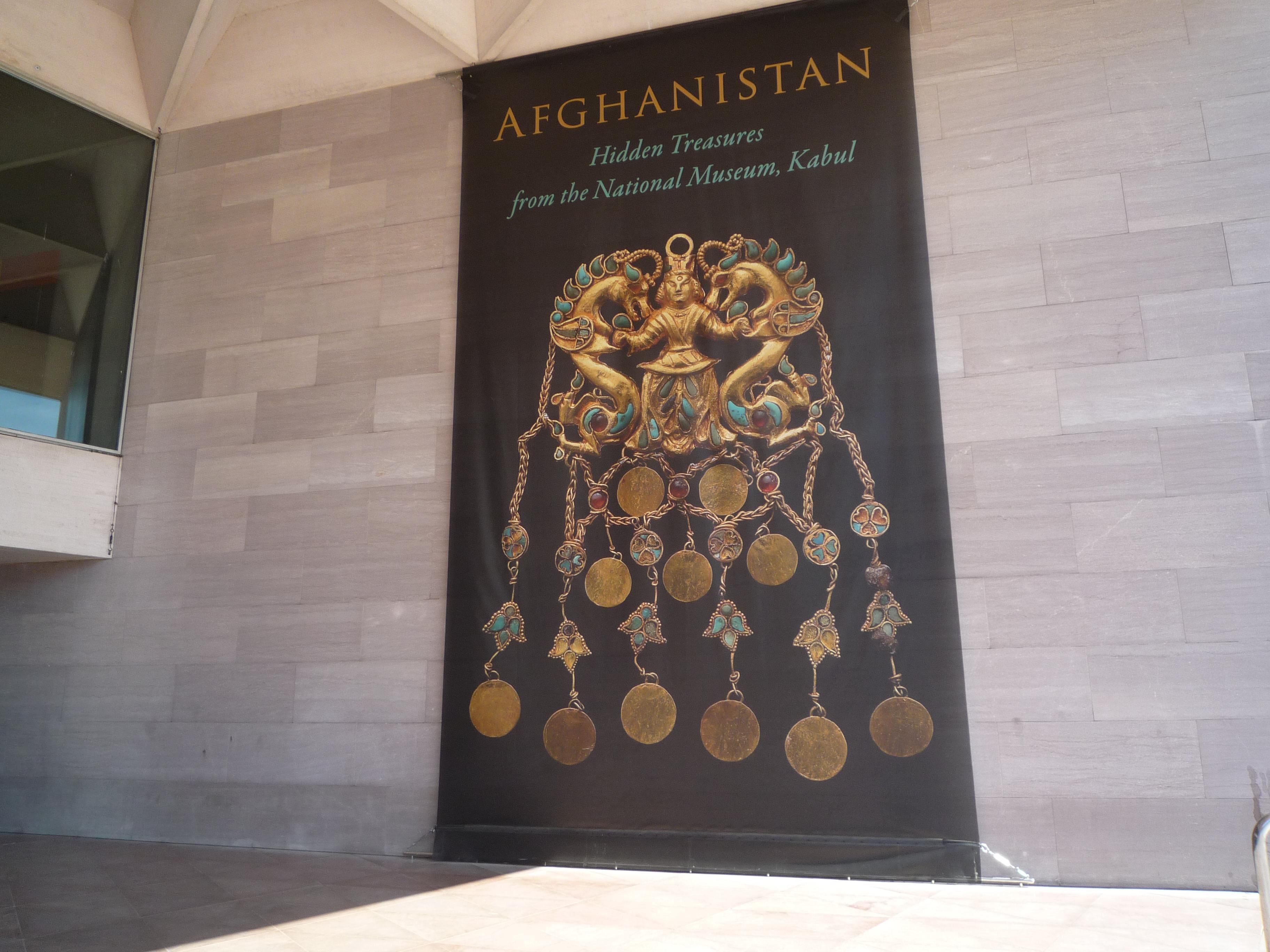 File:Exhibit banner - Afghanistan Hidden Treasures from ...
