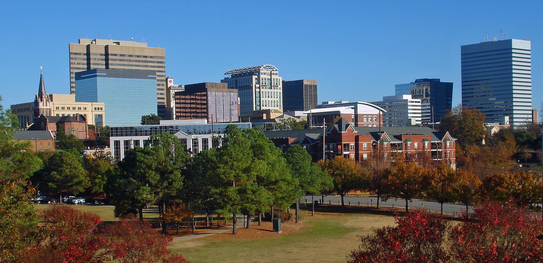 Columbia, South Carolina from Arsenal Hill [Photo courtesy of Wikiepedia]