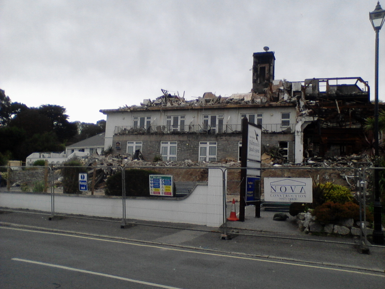 Falmouth Beach Hotel Rebuild