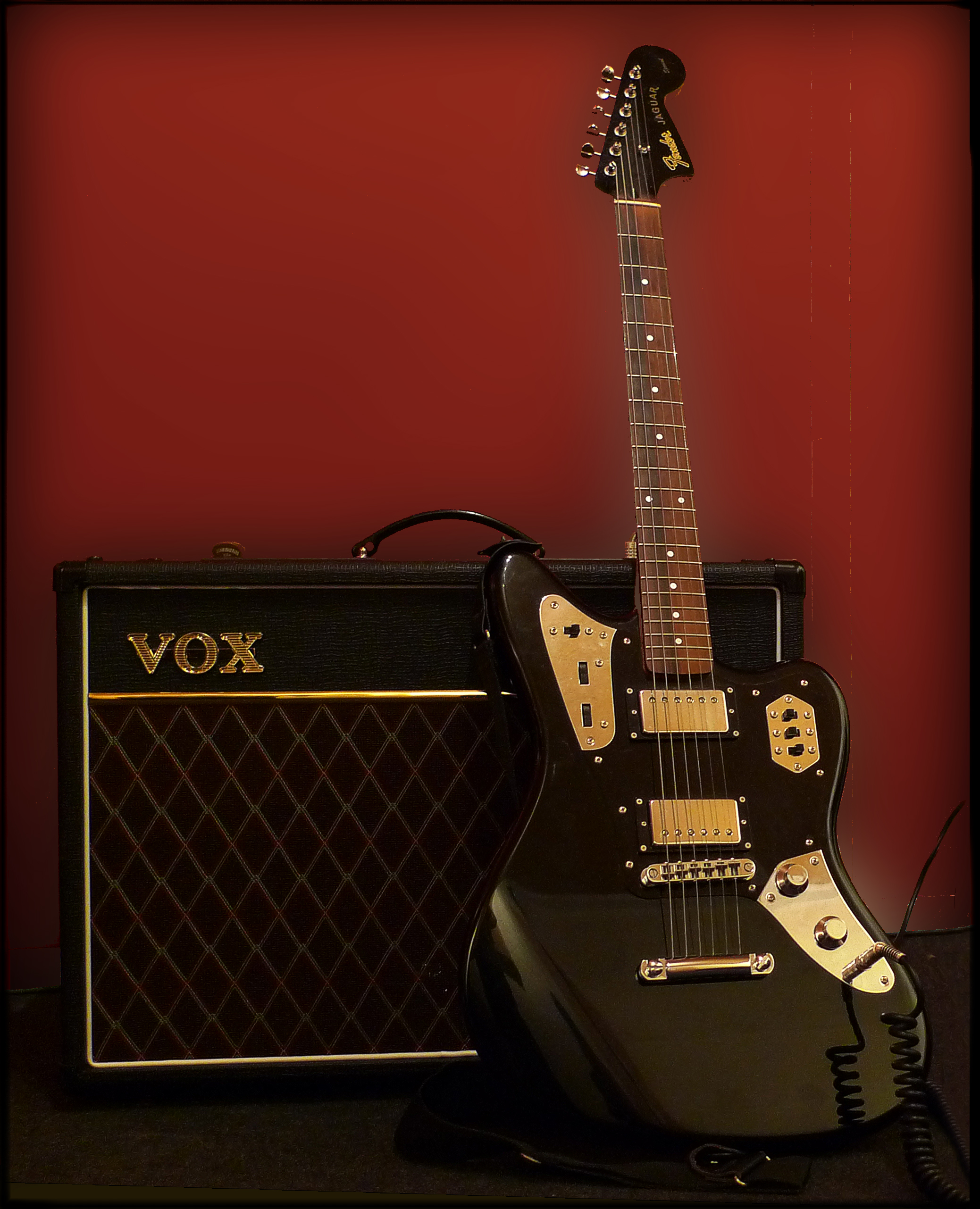 fender jaguar wallpaper-#14