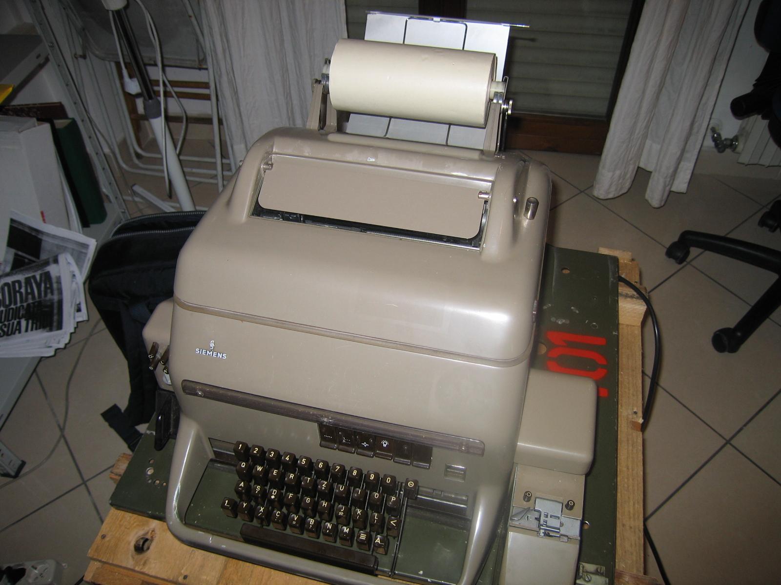 iemensernschreiber100teleprinter