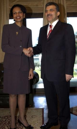Former US Secretary of State Condoleezza Rice ...