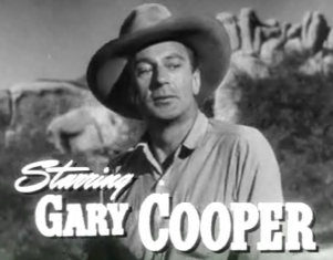 Gary Cooper in Along Came Jones trailer