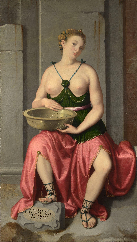 The Vestal Virgin Tuccia