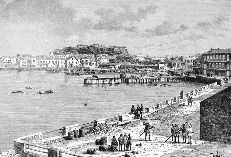 File:Gorée-Landing stage-Fort-1892.jpg