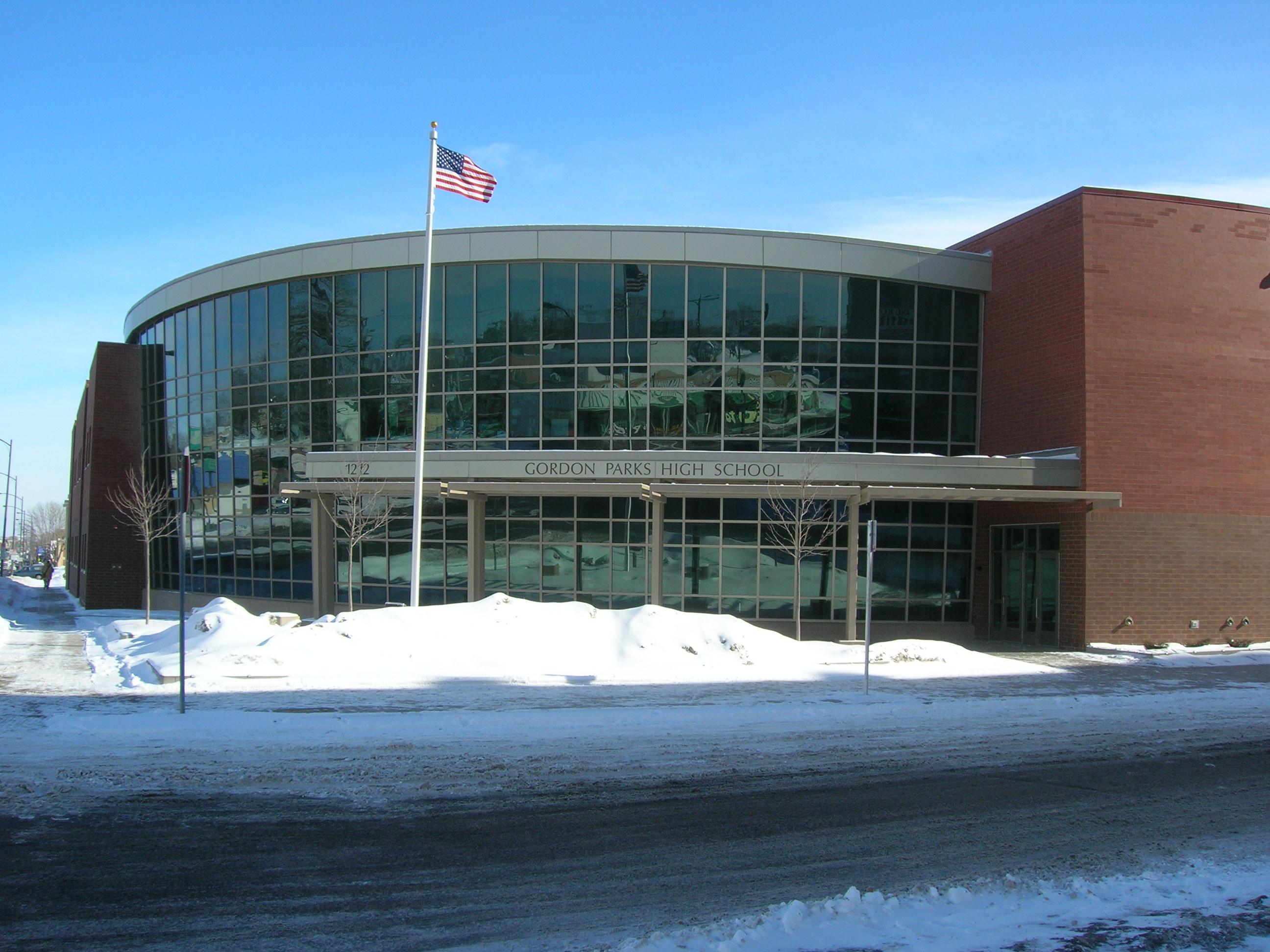 File:Gordon Parks High School entrance.JPG