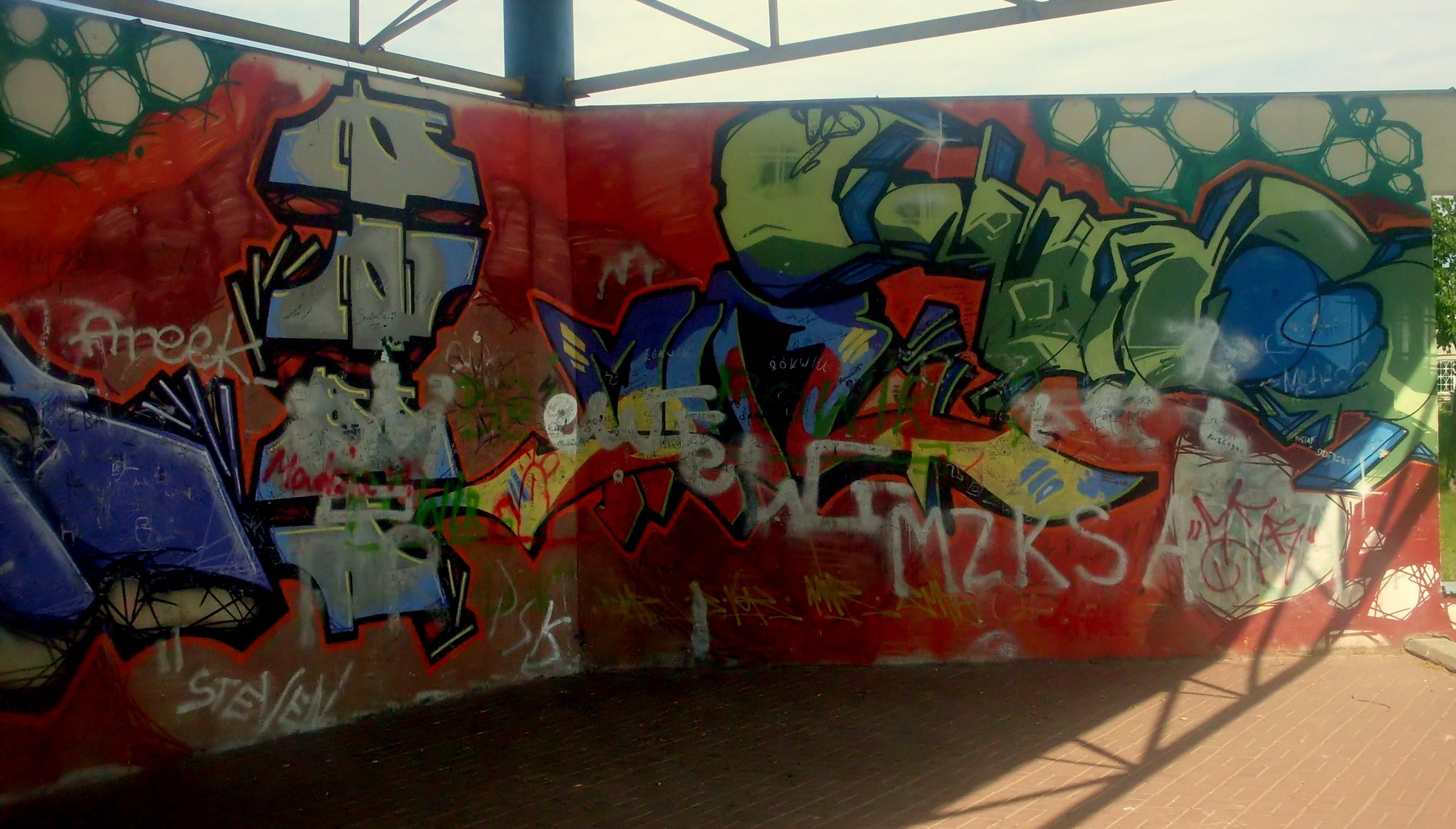 Filegraffiti at city park in gdynia obluze 4 jpg