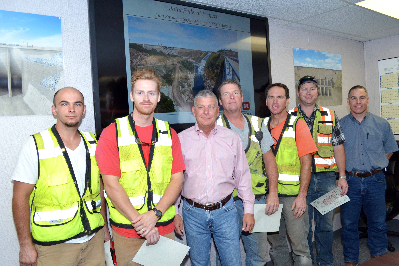 Description Granite Construction staff recognized for response to July ...
