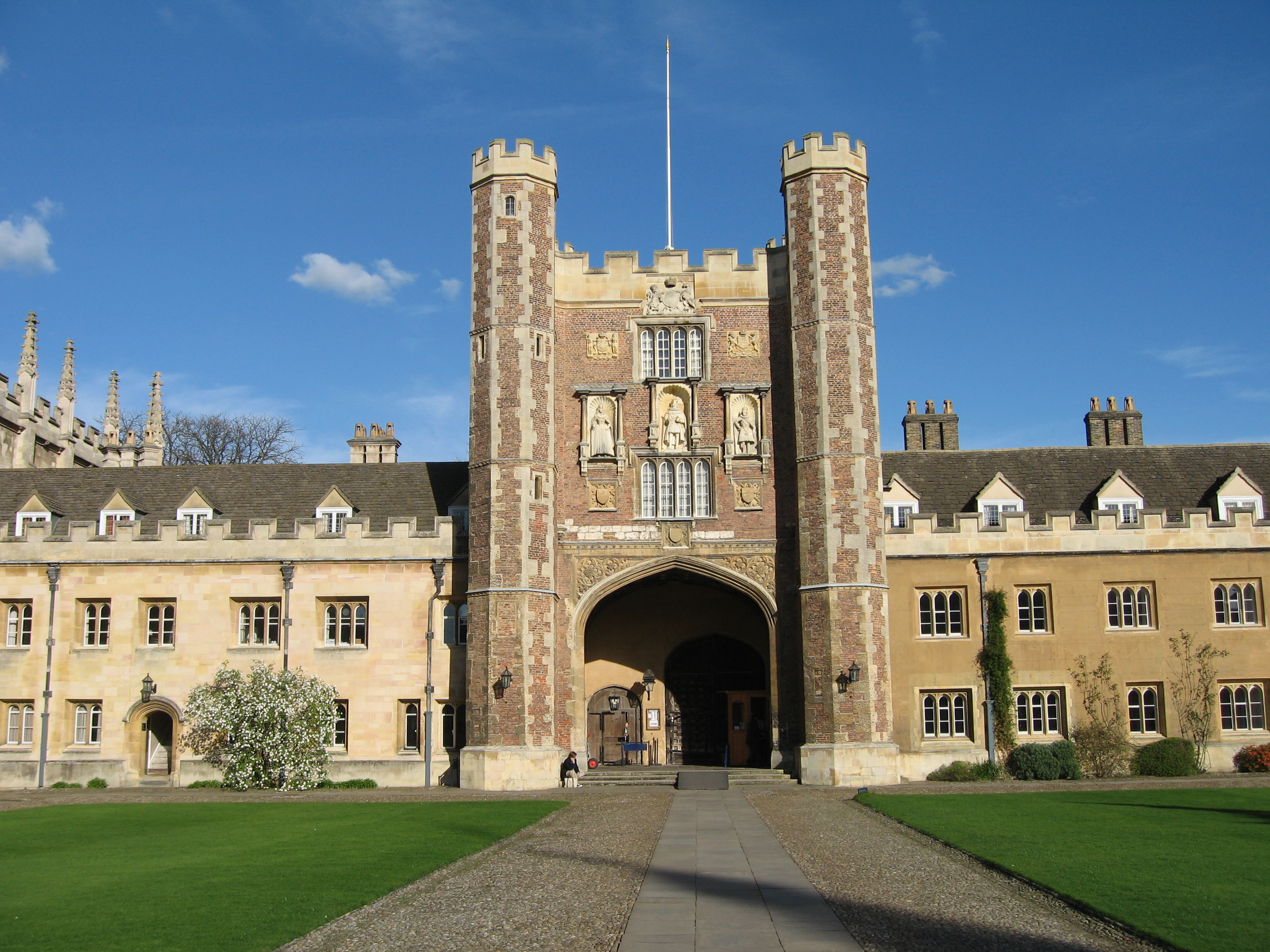 File great gate trinity college cambridge inside jpg - Trinity college swimming pool timetable ...