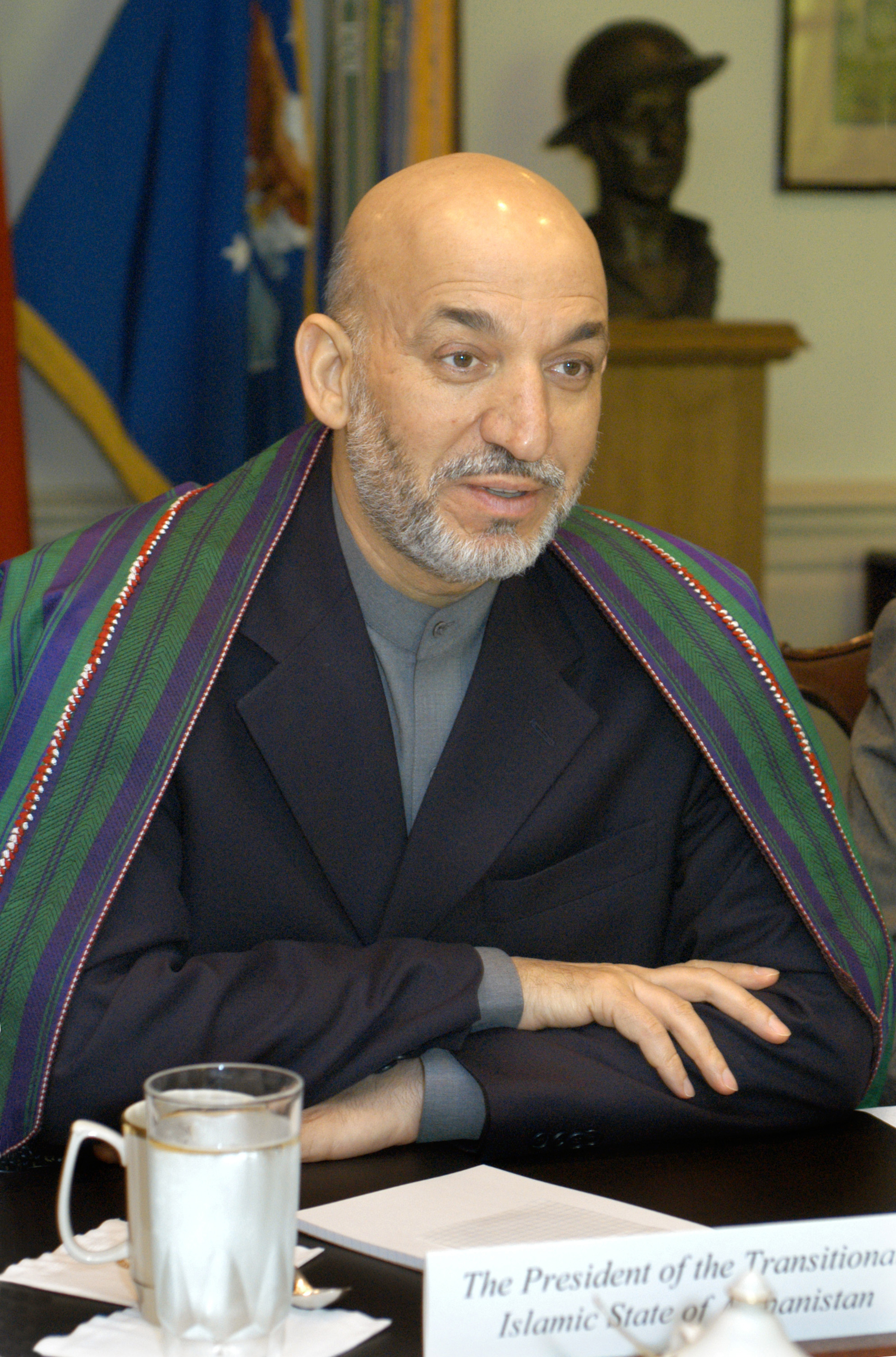 hamid karzai Kabul, afghanistan — hamid karzai, the former afghan president and current antagonist to his successor's government, likes to describe afghan politics.