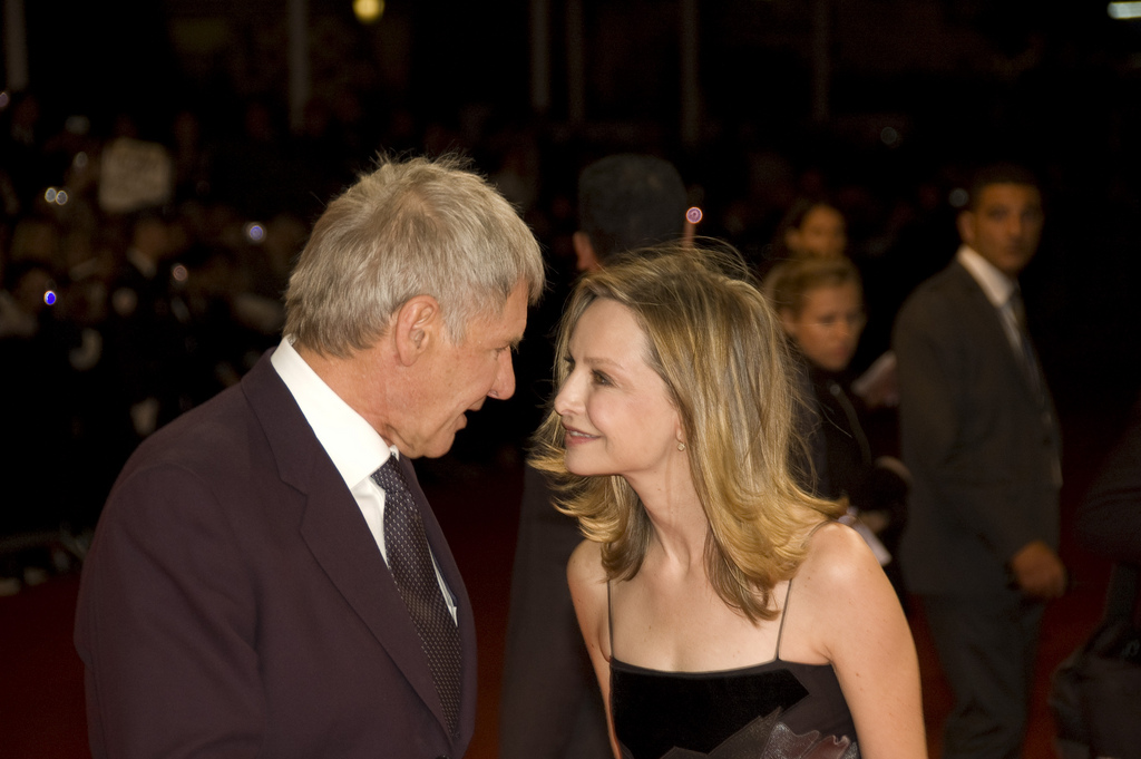 description harrison ford and calista flockhart at the 2009 deauville. Cars Review. Best American Auto & Cars Review
