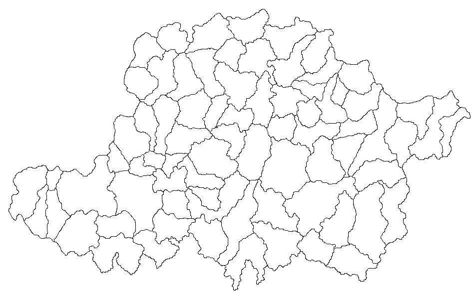 Arad megye térképe