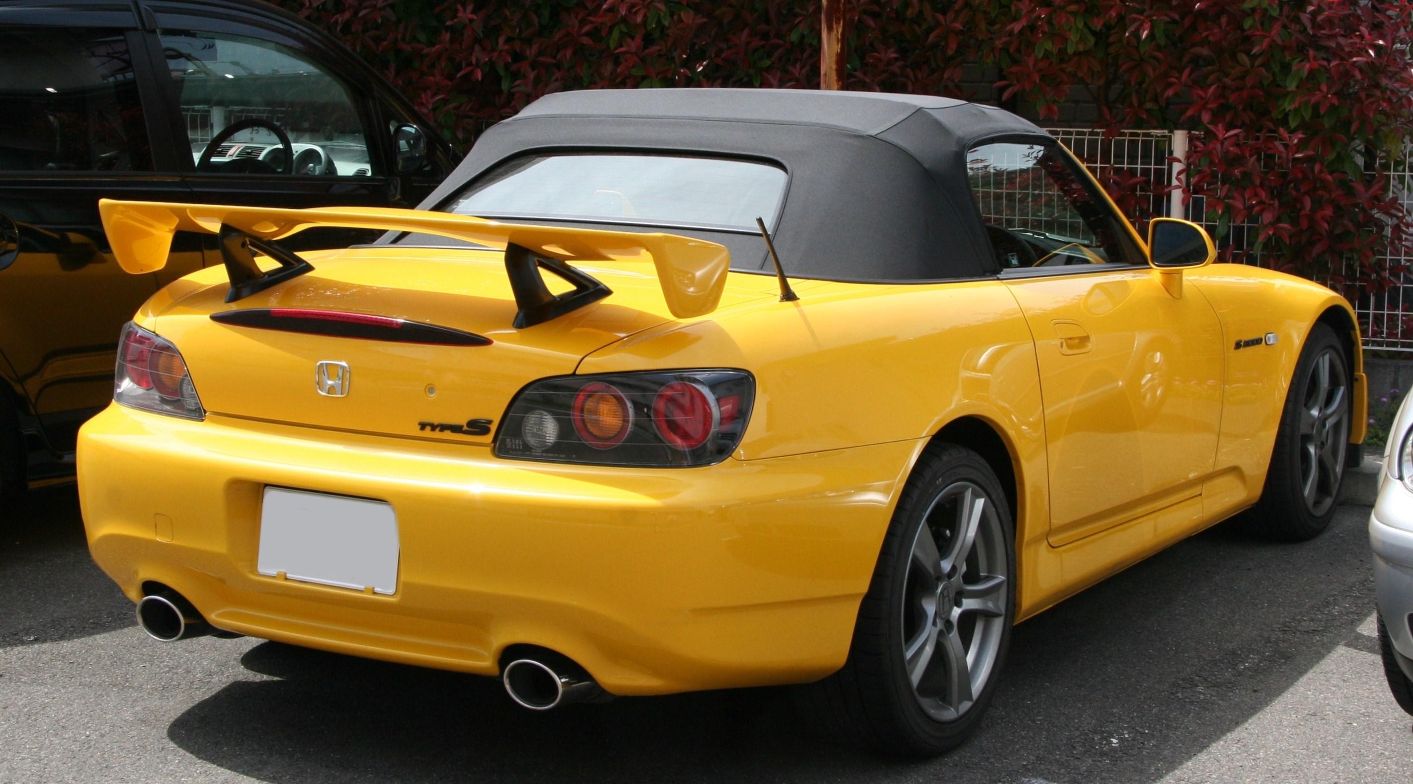 File:Honda S2000 Type S rear.jpg - Wikimedia Commons