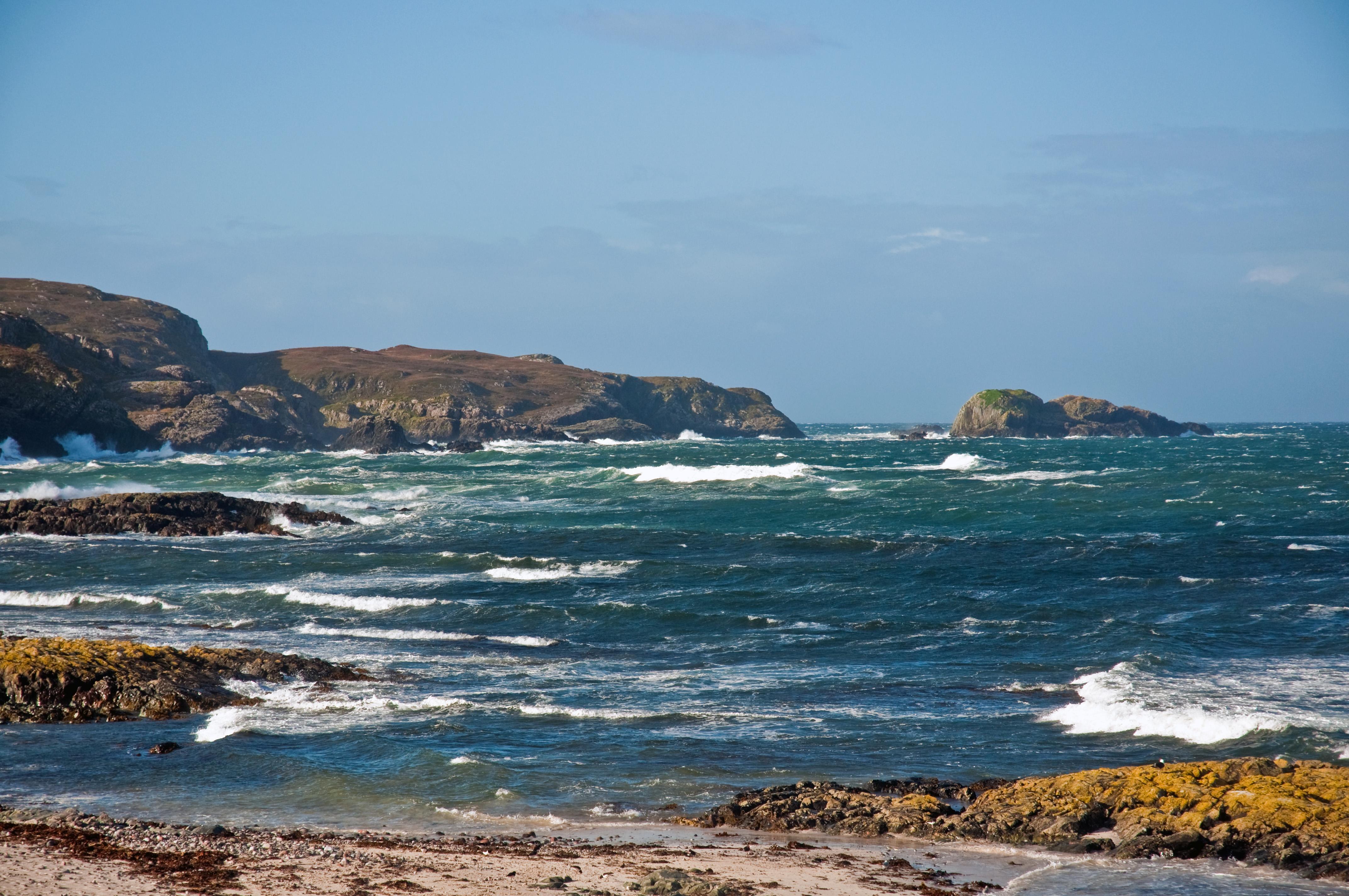 West Coast Scotland Islands Map