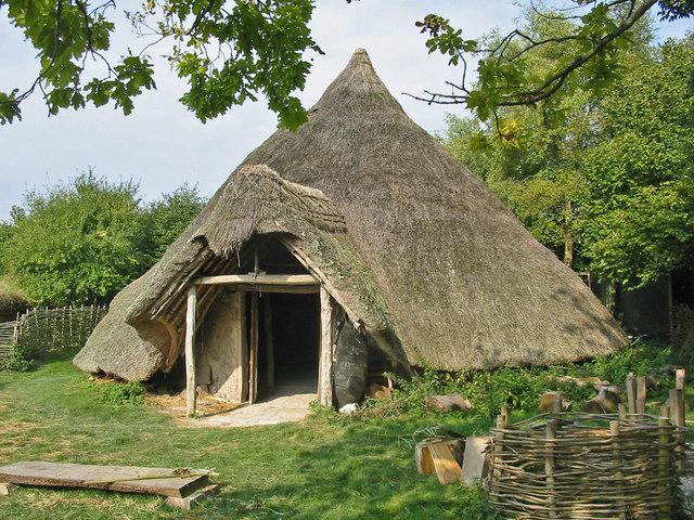 Iron Age (celtic) Round House Cranborne Dorset - geograph.org.uk - 160954