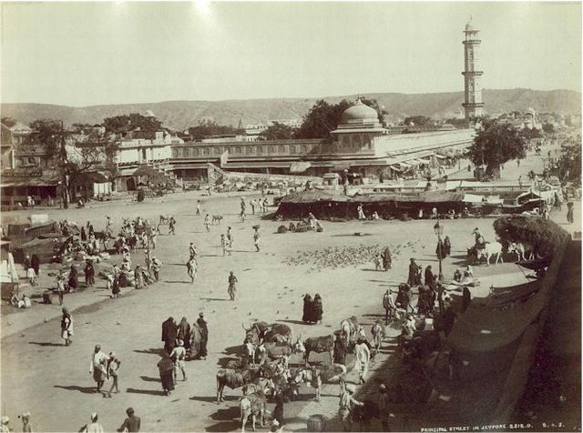 File:Jaipur, Principal Street, c. 1875.jpg - Wikipedia