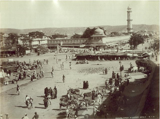 Jaipur in the past, History of Jaipur