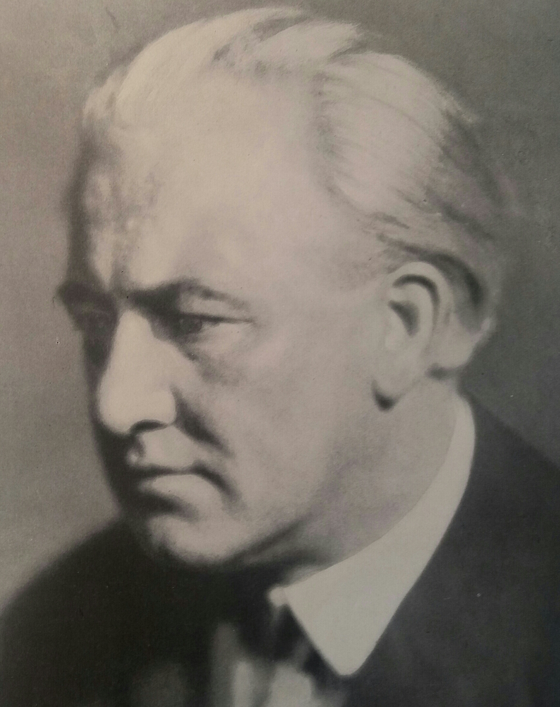 Jan Bor, Czech Theatre Director (original photo taken around 1930)