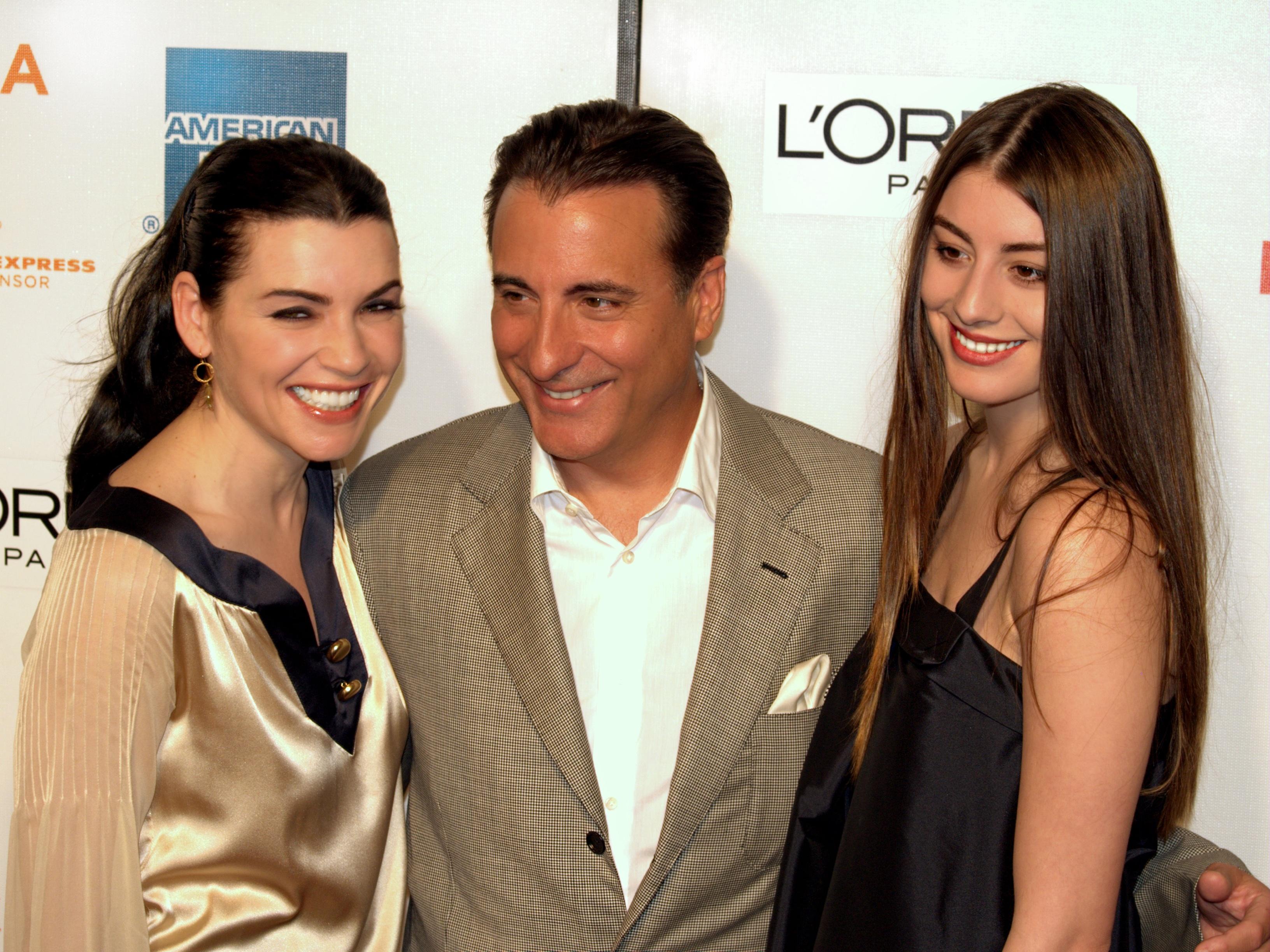 File:Julianna Margulies Andy Garcia and Dominik Garcia at ...