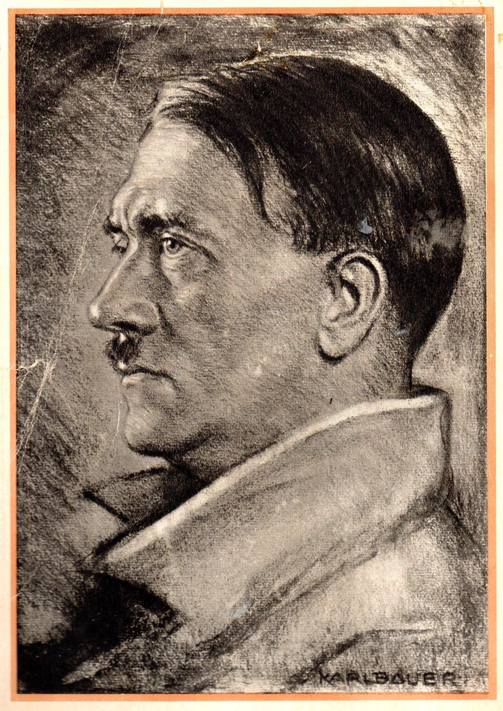 Karl Bauer: Porträt Von Adolf Hitler