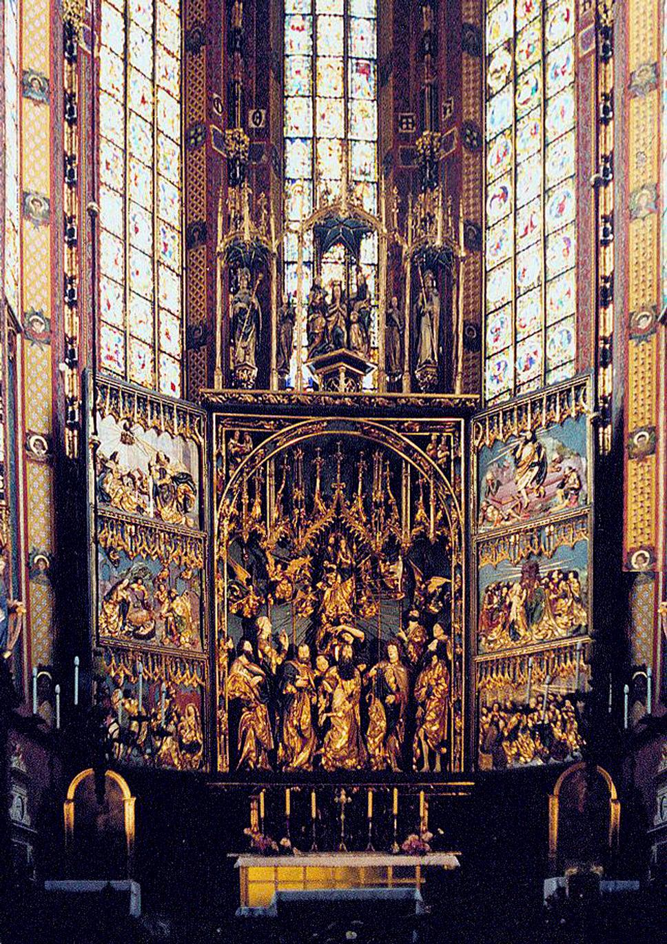 Veit Stoss Altarpiece In Krakw Wikipedia