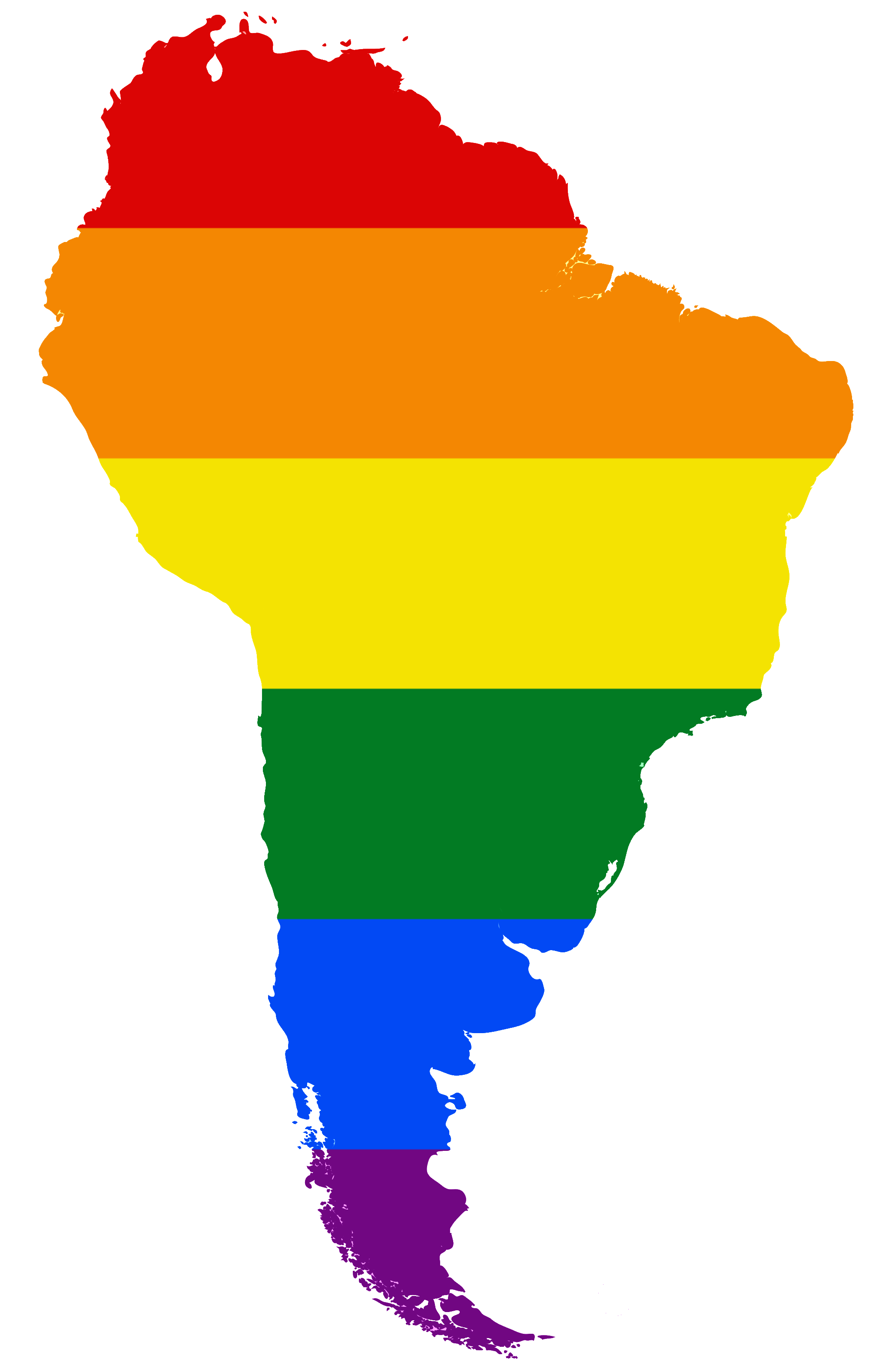 FileLGBT Flag Map Of South Americapng Wikimedia Commons - South america map and flags