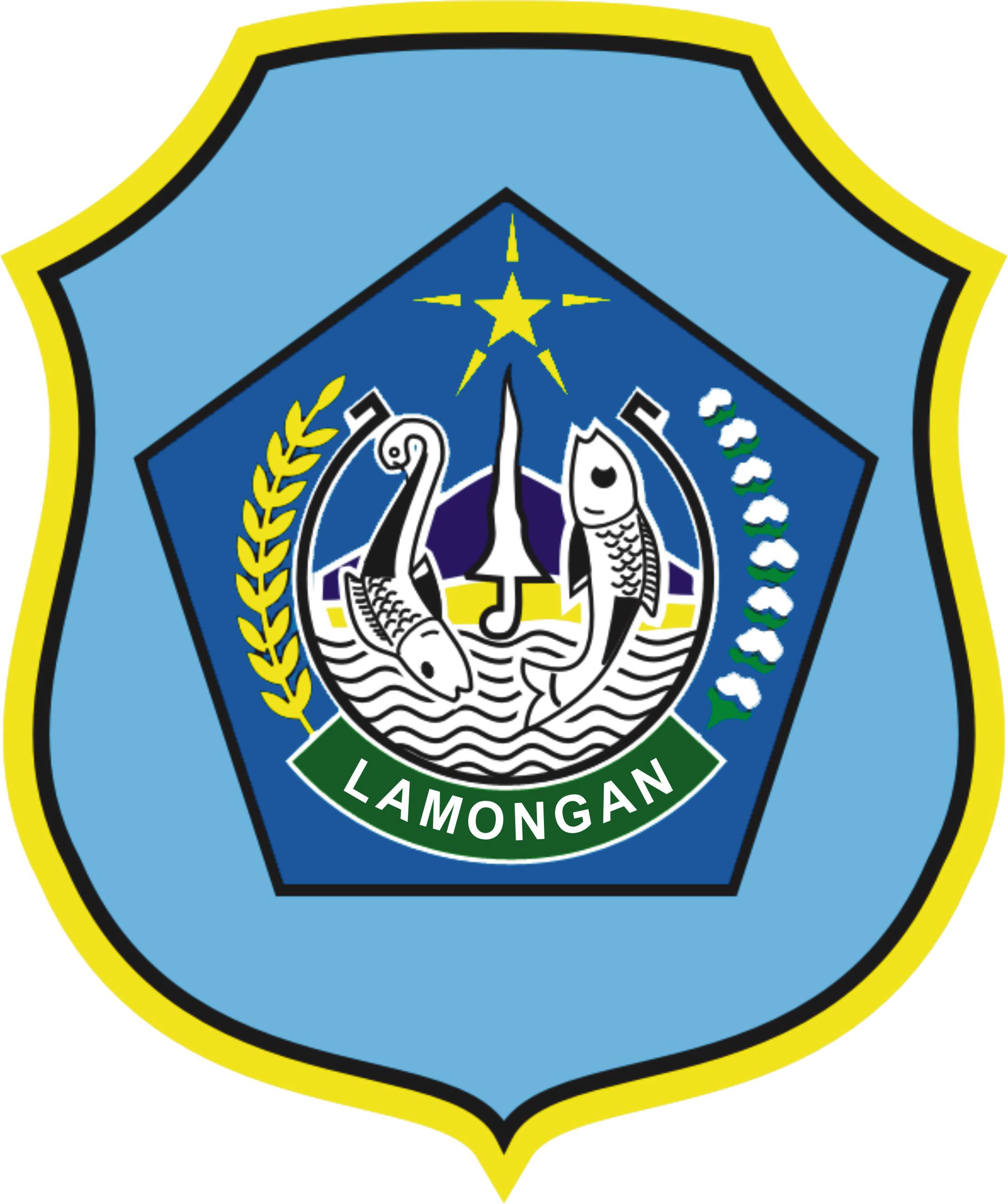 Hasil gambar untuk kab lamongan logo