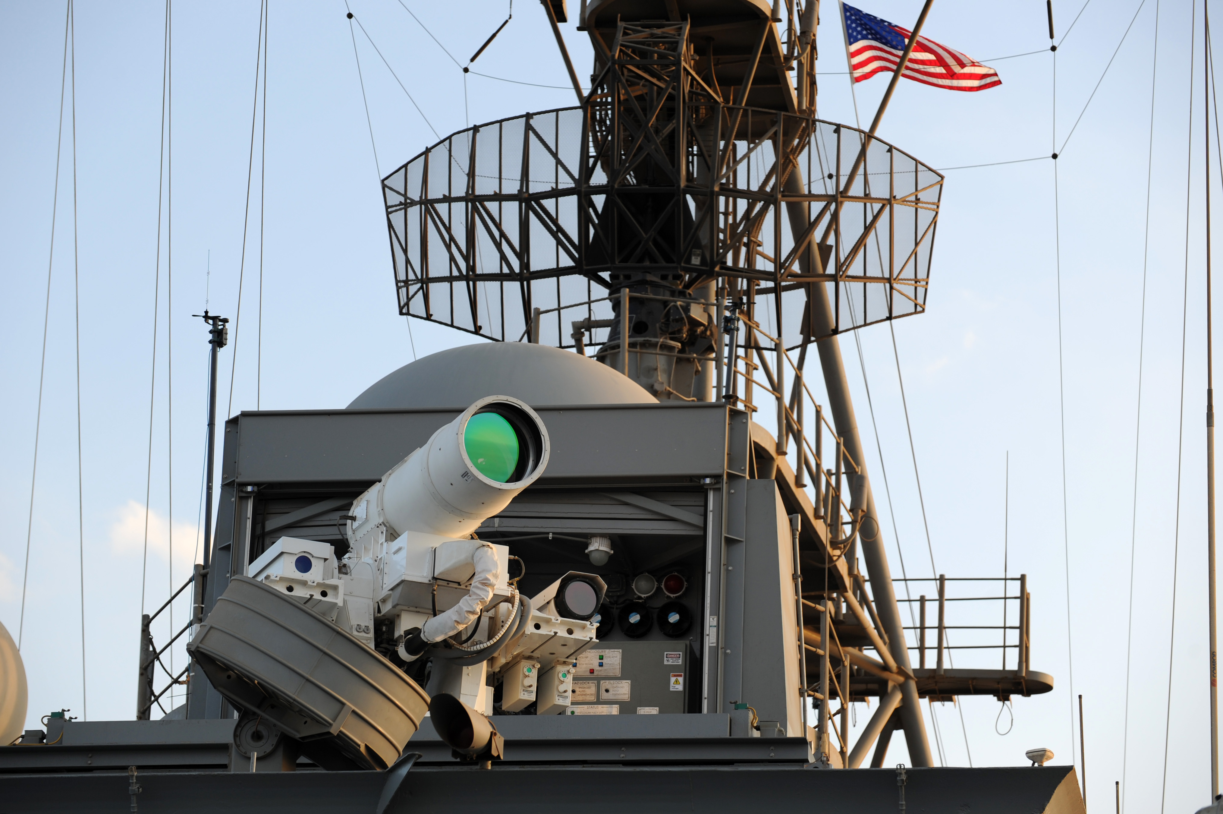 AN/SEQ-3 Laser Weapon System - Wikipedia