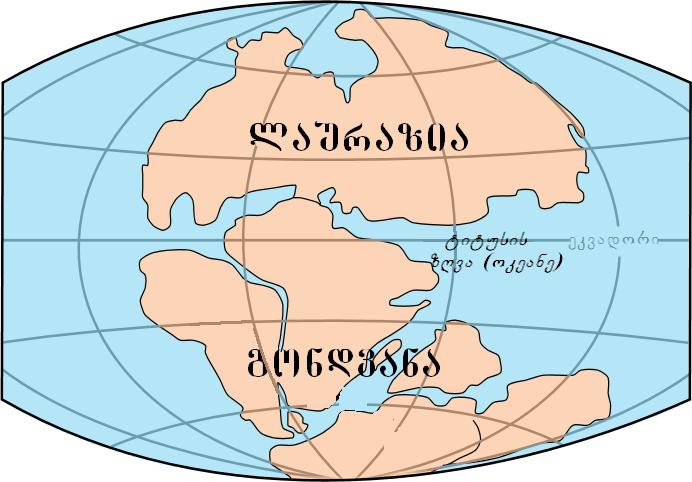 le-gondwana-et-la-laurasia