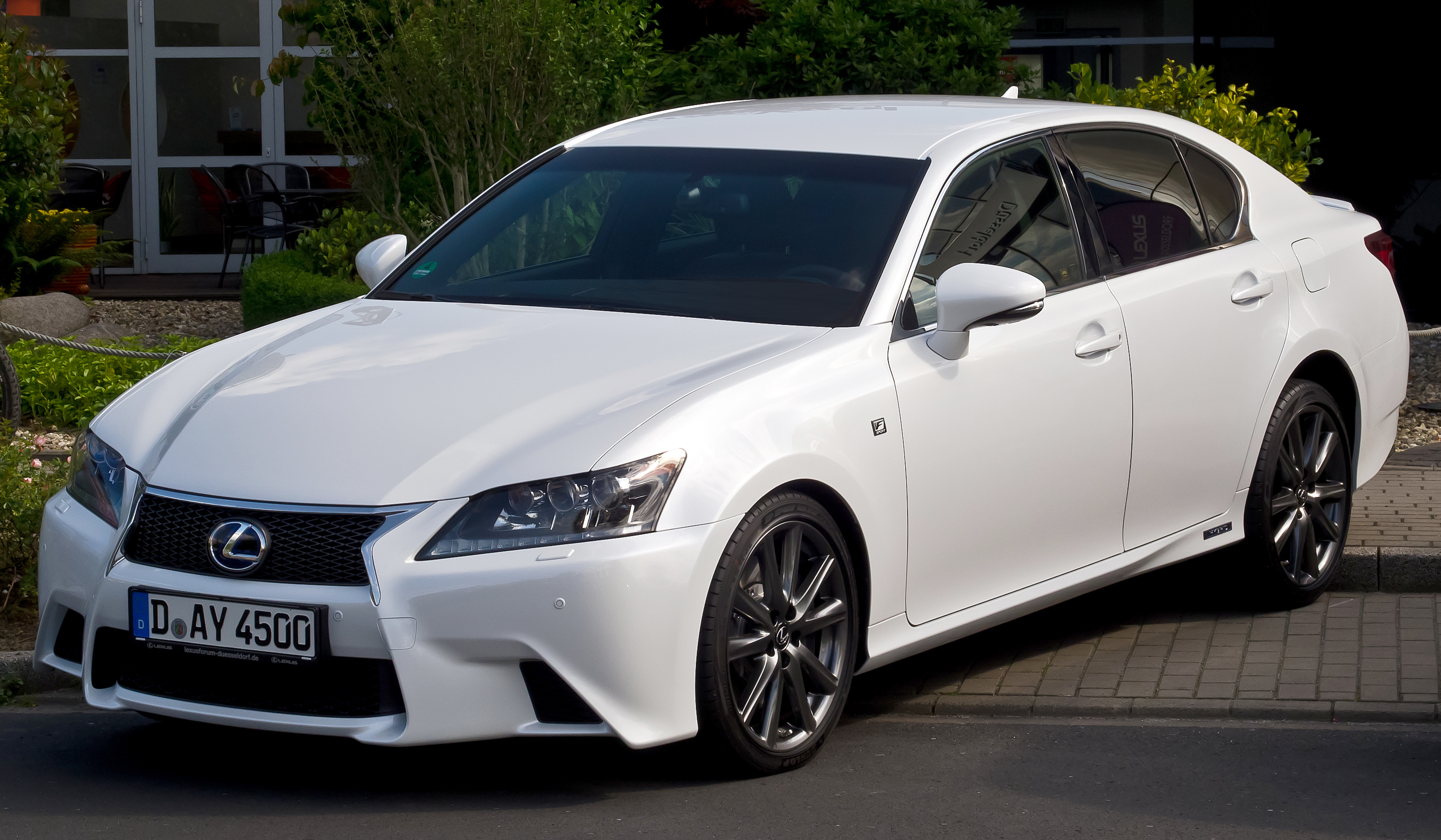 file lexus gs 450h f sport frontansicht 17 juni 2012. Black Bedroom Furniture Sets. Home Design Ideas