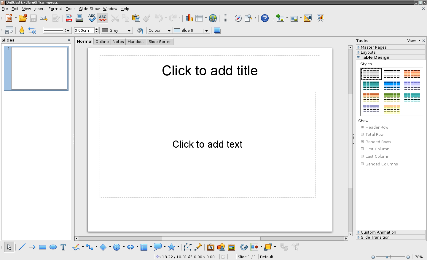 F jl libreoffice impress 3 wikip dia - Comment faire un diapo avec open office ...