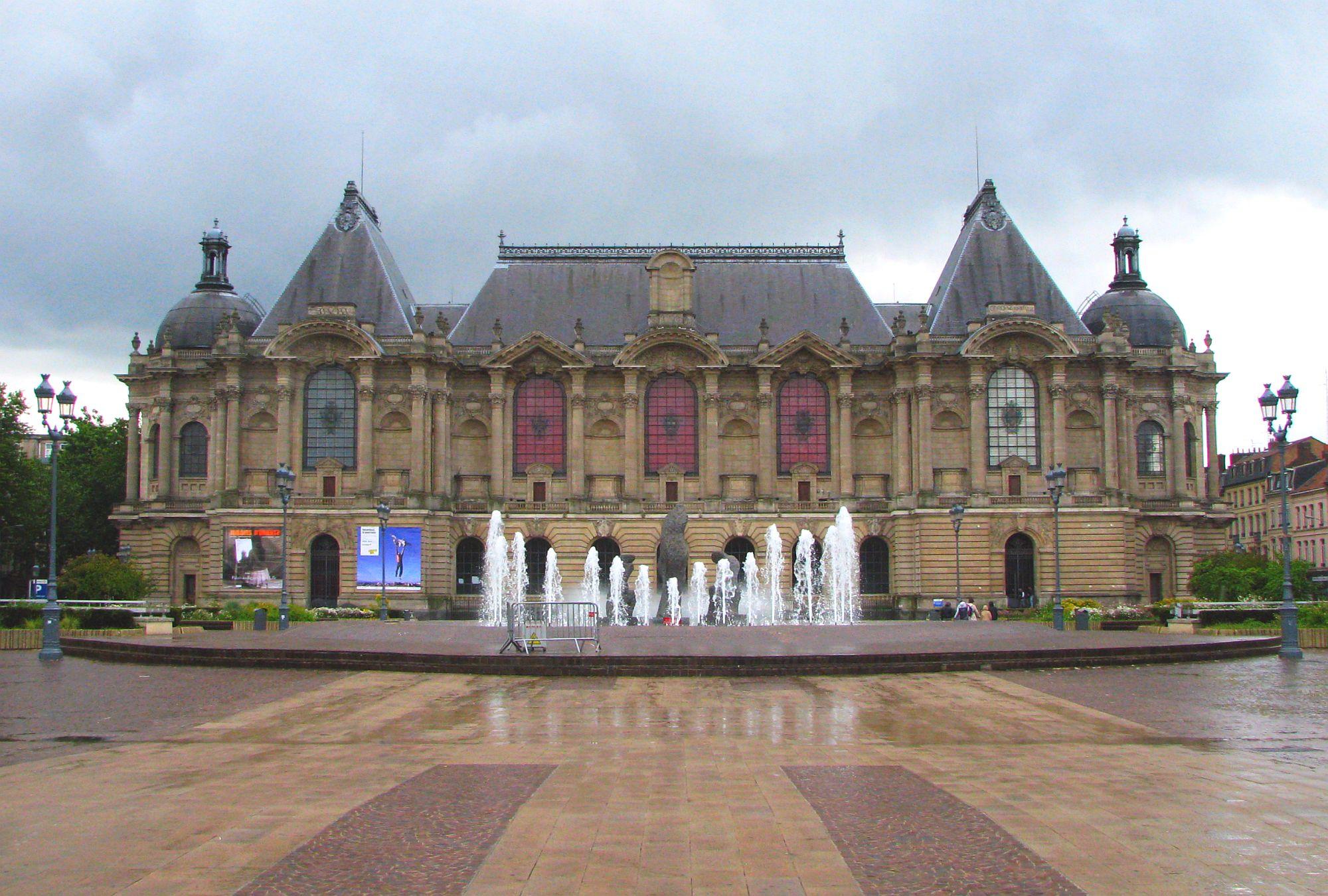 File Lille Place De La Republique Mus E Palais Des Beaux