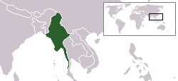 LocationMyanmar
