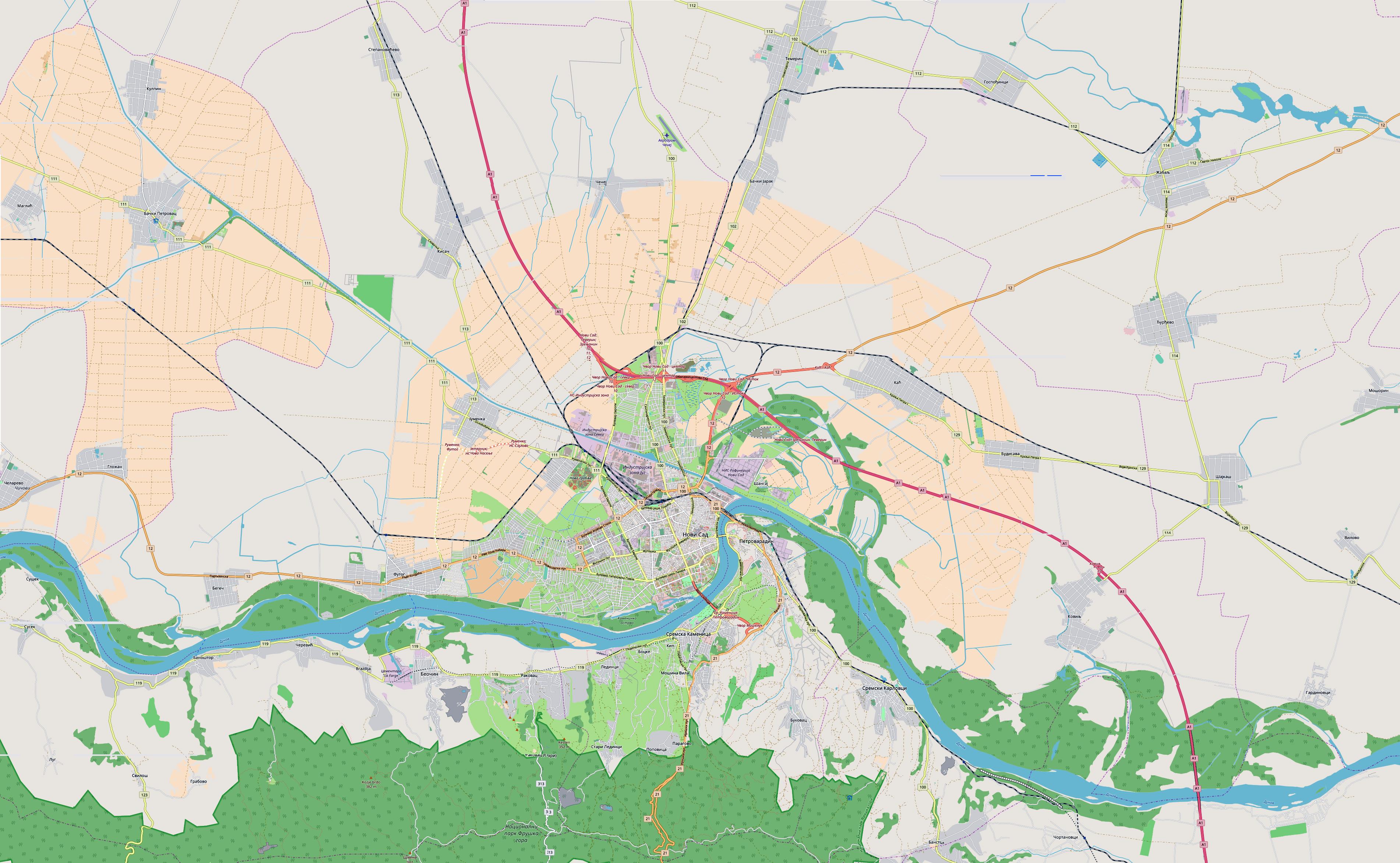 City Municipality Of Novi Sad Wikipedia
