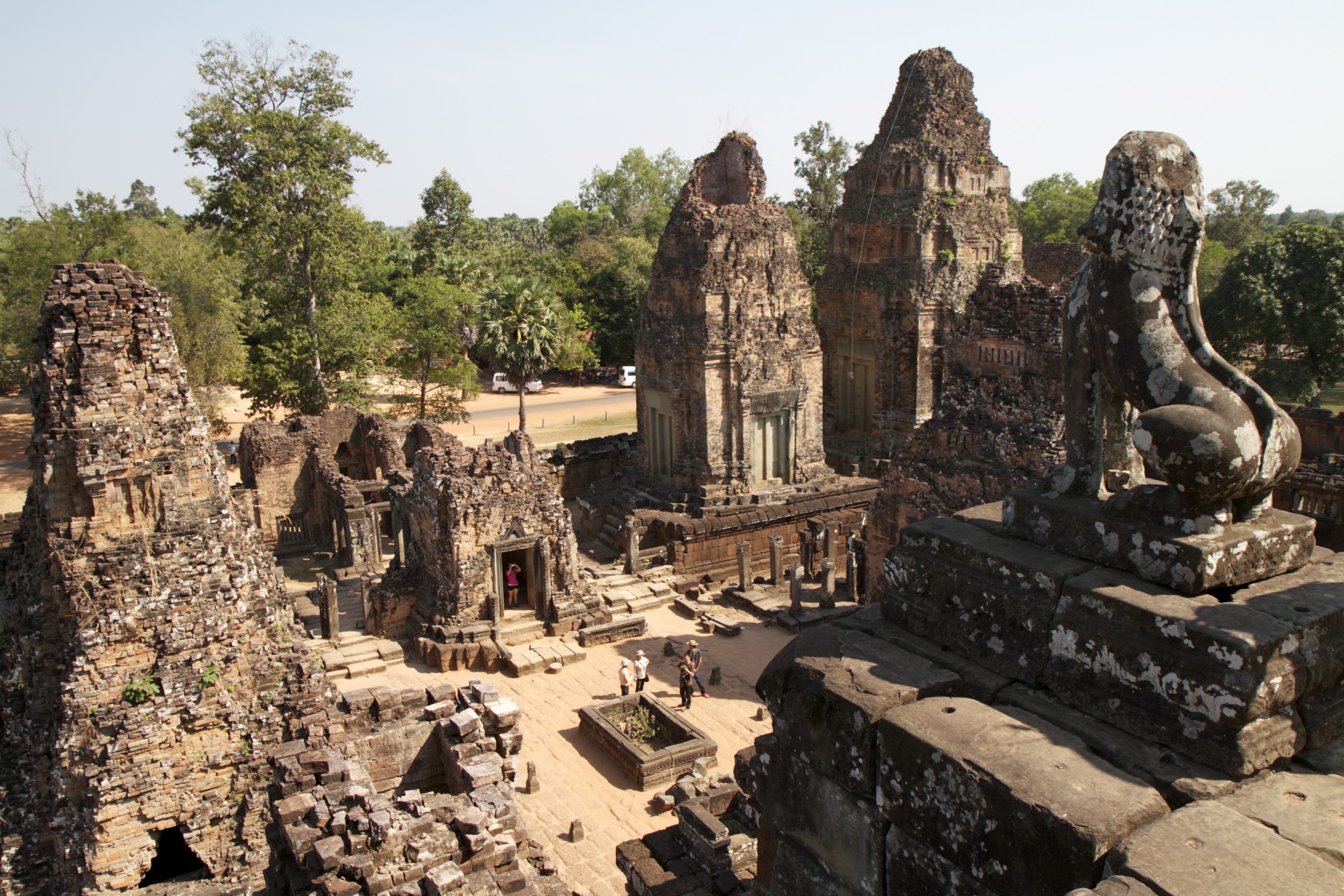 Looking down from Pre Rup Cambodia.jpg