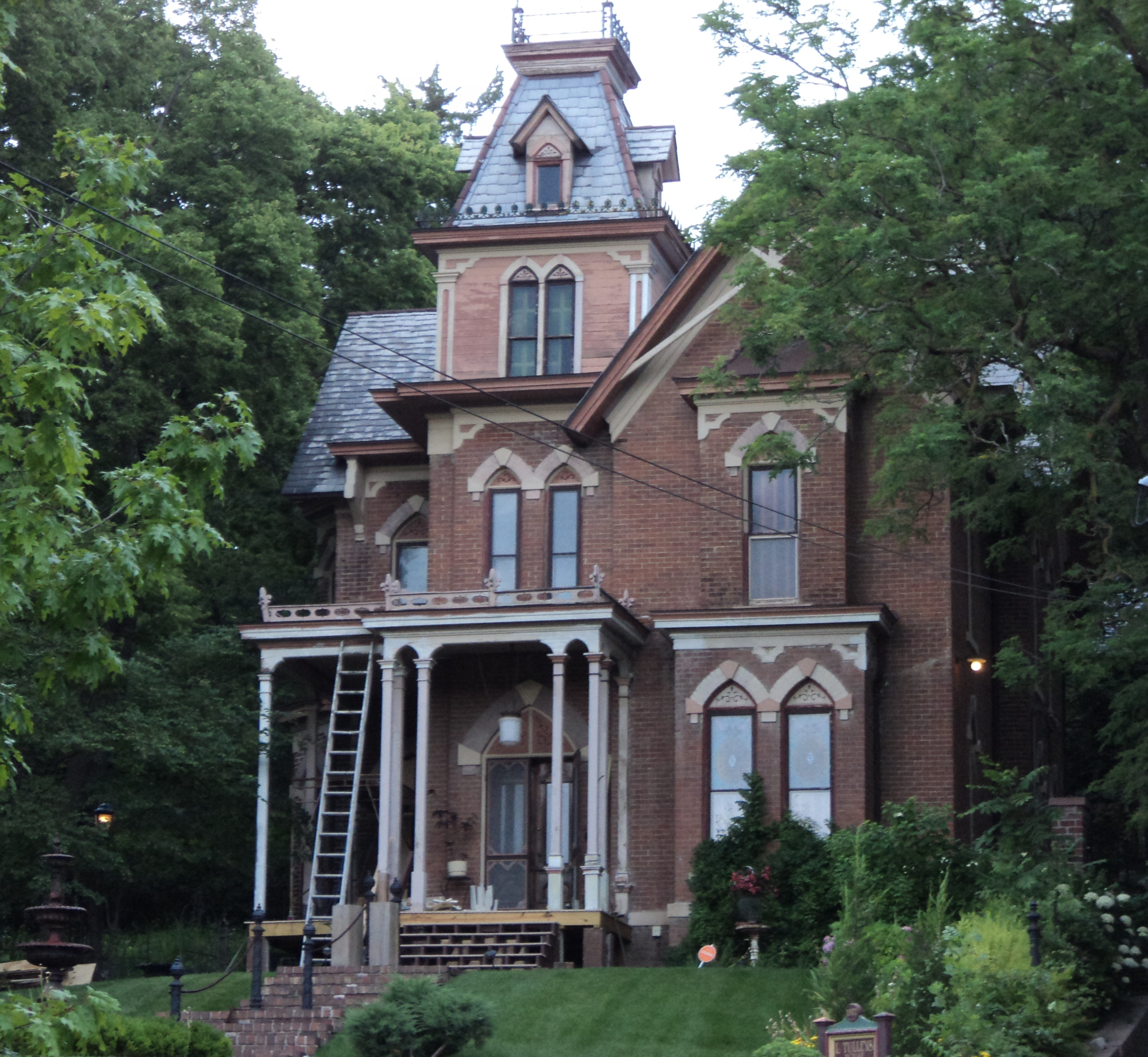 Gothic Victorian House File Lysander Tulleys House 151 Park Ave Council Bluffs