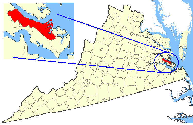 File:Map showing York County, Virginia.png   Wikimedia Commons
