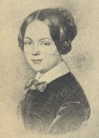 Marie von Ebner Eschenbach na década de 1840