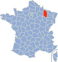 Communes of the Meuse department Wikimedia list article