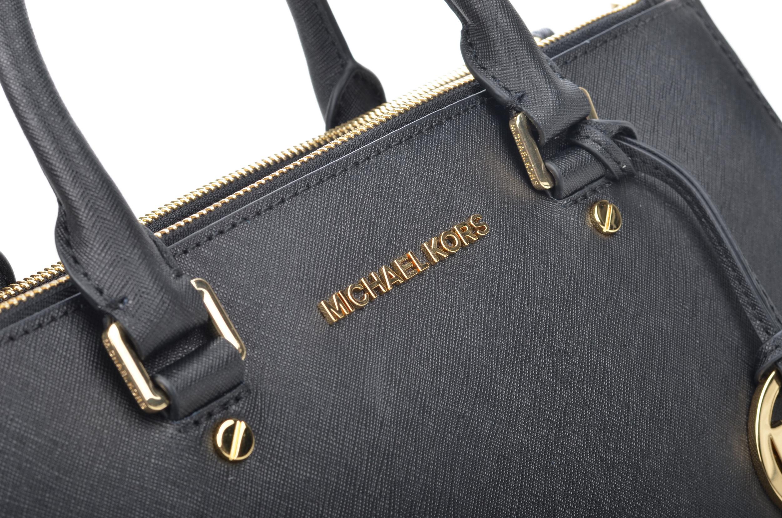 5c2e0d4027a3f File Michael Kors Sutton LG Satchel Handtasche 30S4GTVS7L Kalbsleder schwarz  (2) (16907695485).jpg
