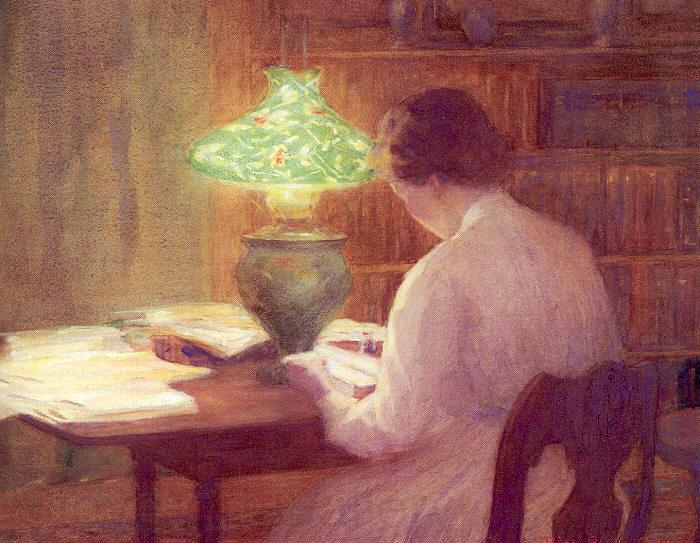 Mina Fonda Ochtman The evening lamp.jpg