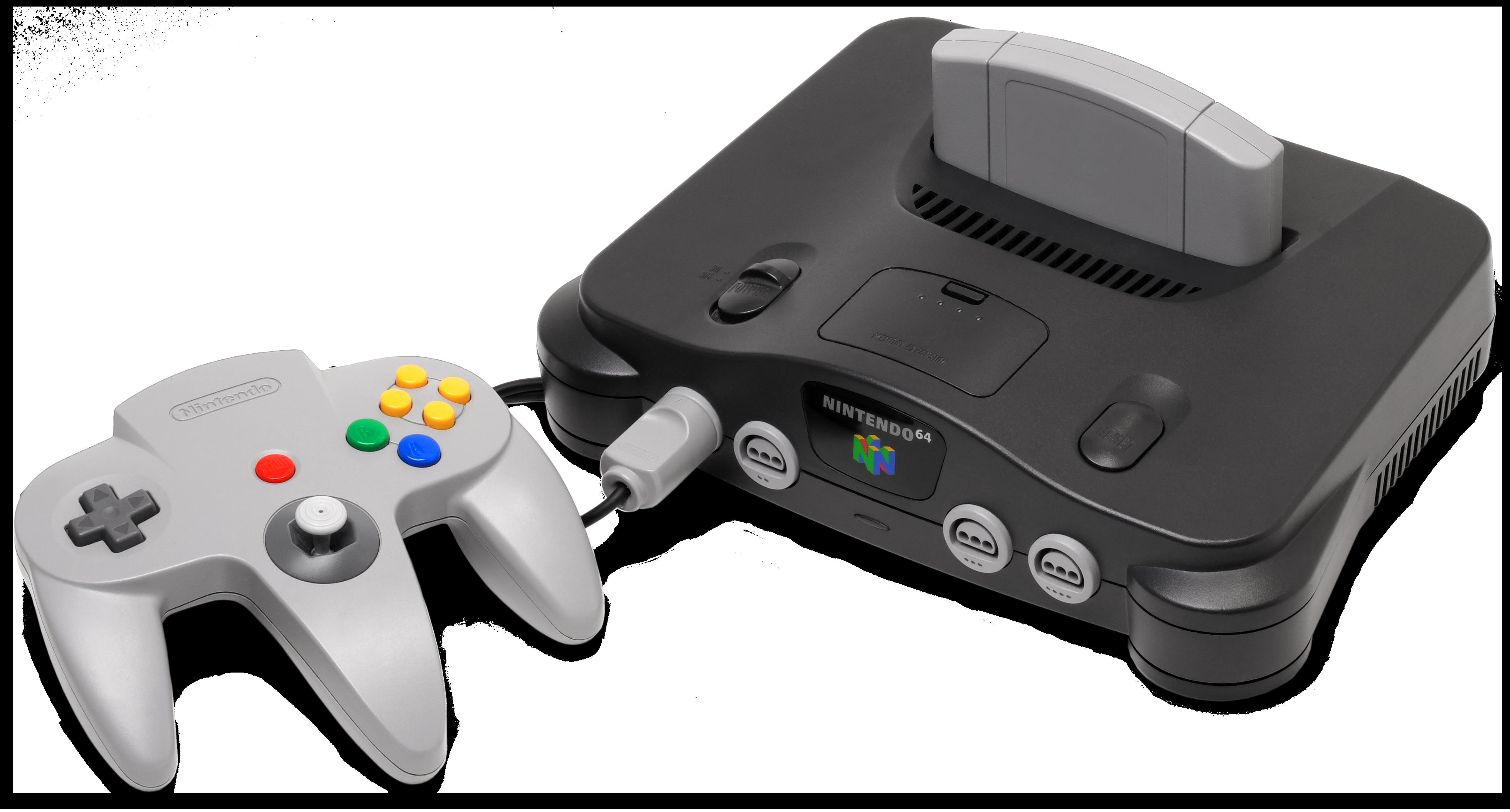 Nintendo 64 - Viquipèdia, l'enciclopèdia lliure