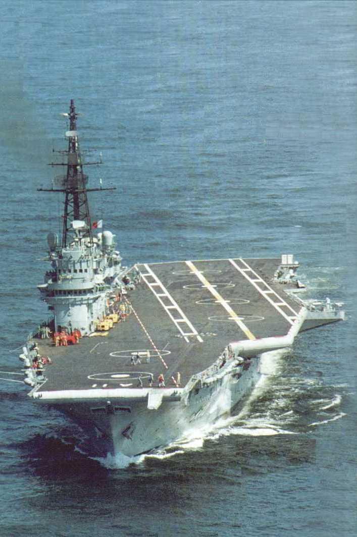 Brazilian aircraft carrier Minas Gerais - Wikipedia